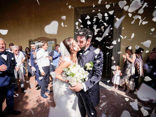 Il matrimonio di Gabriele e Laura a Impruneta, Firenze 61