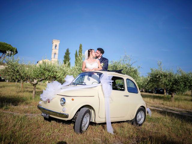 Il matrimonio di Gabriele e Laura a Impruneta, Firenze 75