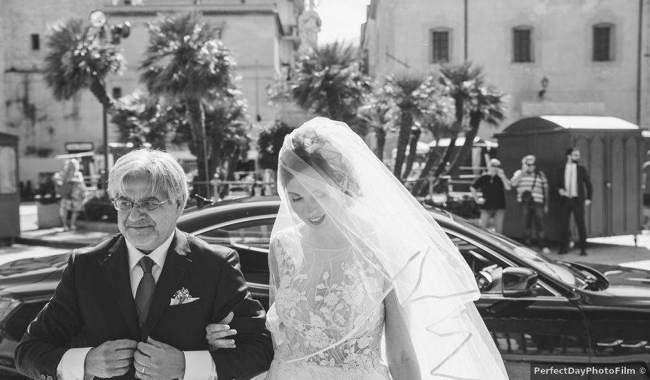 Il matrimonio di Rosario e Antonella a Monreale, Palermo