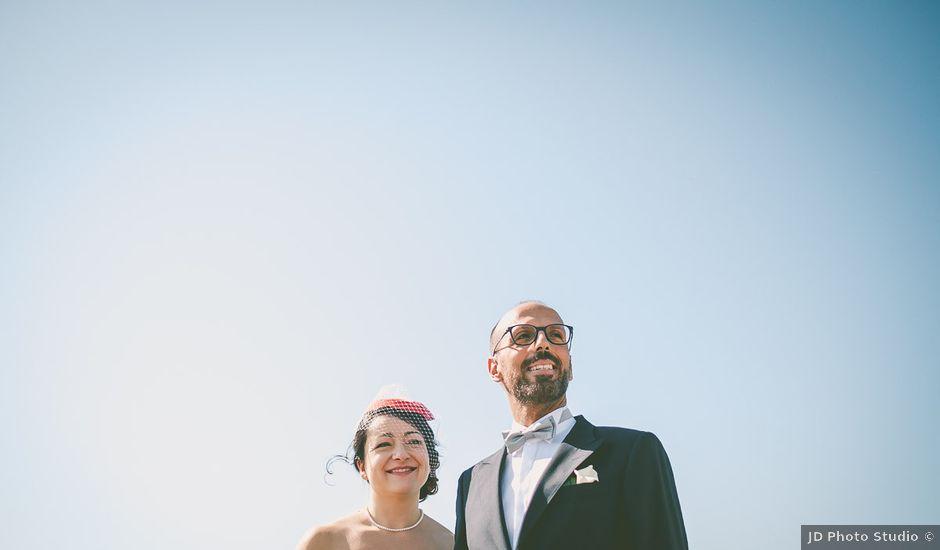 Il matrimonio di Dario e Maura a Roma, Roma
