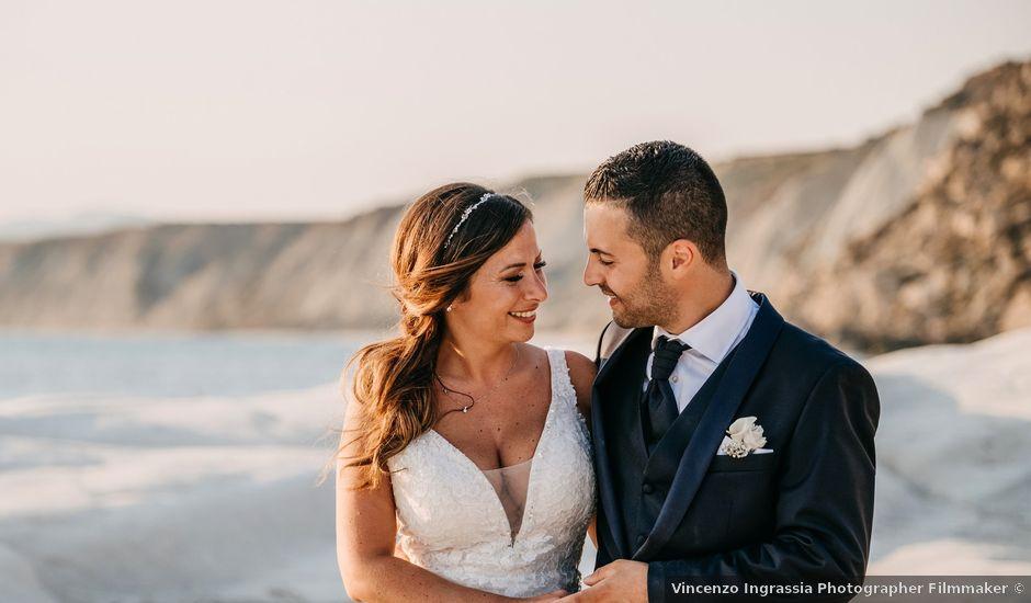 Il matrimonio di Salvatore e Rosaria a Palma di Montechiaro, Agrigento