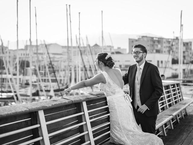 Il matrimonio di Gioacchino e Schjva a Palermo, Palermo 98