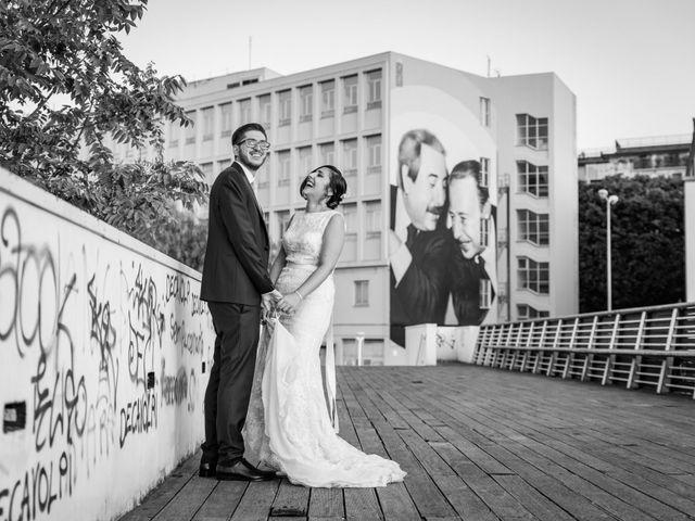 Il matrimonio di Gioacchino e Schjva a Palermo, Palermo 101