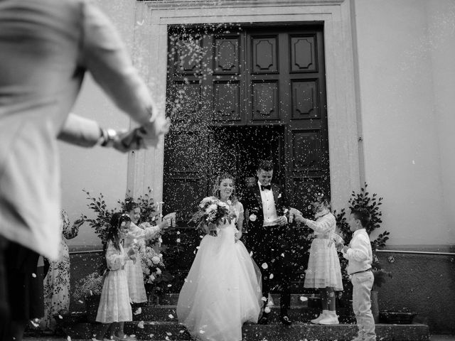 Il matrimonio di Alessandro e Giulia a Civenna, Como 16