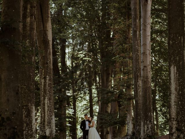 Il matrimonio di Alessandro e Giulia a Civenna, Como 22
