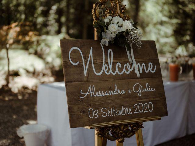 Il matrimonio di Alessandro e Giulia a Civenna, Como 23