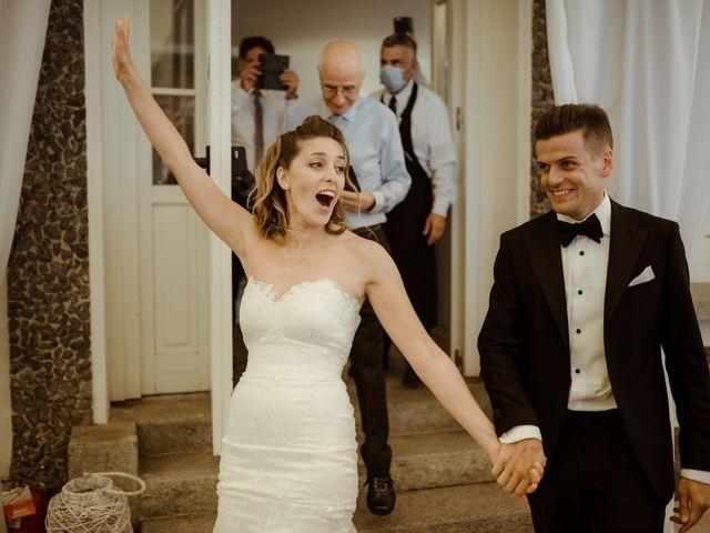 Il matrimonio di Alessandro e Giulia a Civenna, Como 26