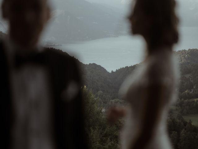 Il matrimonio di Alessandro e Giulia a Civenna, Como 31