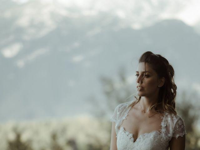 Il matrimonio di Alessandro e Giulia a Civenna, Como 32