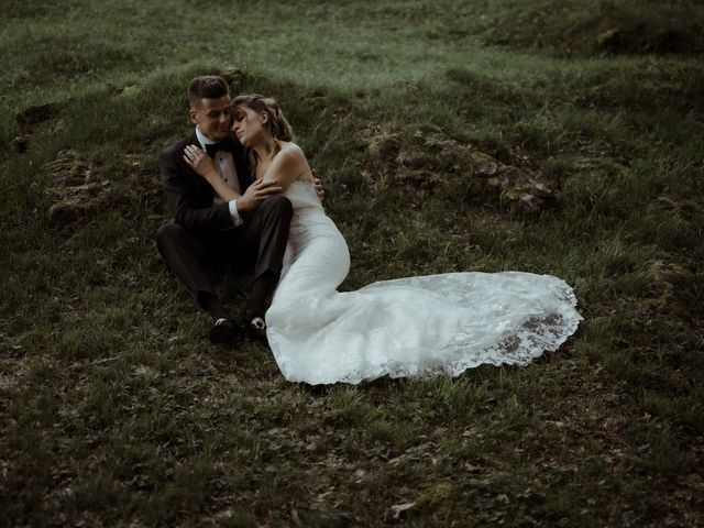 Il matrimonio di Alessandro e Giulia a Civenna, Como 33