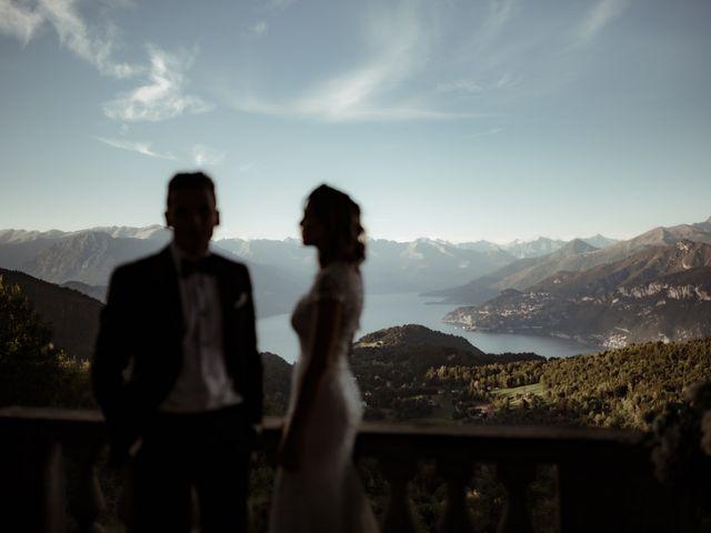 Il matrimonio di Alessandro e Giulia a Civenna, Como 34