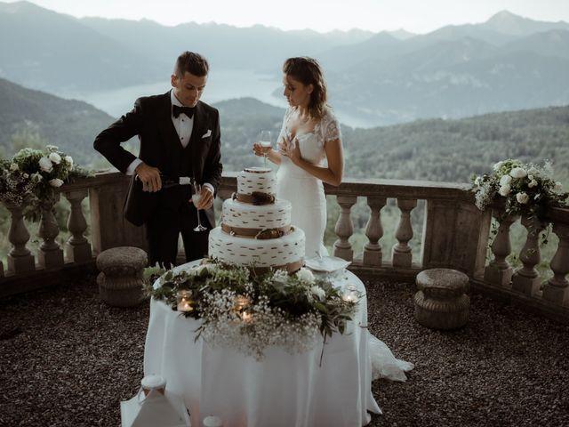 Il matrimonio di Alessandro e Giulia a Civenna, Como 36