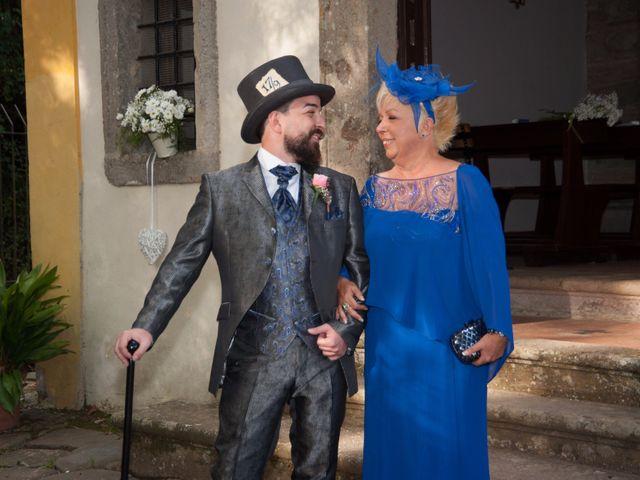 Il matrimonio di Ingrid e Emiliano a Manziana, Roma 13