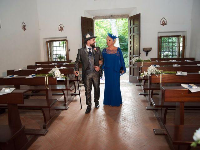 Il matrimonio di Ingrid e Emiliano a Manziana, Roma 14
