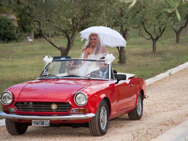 Il matrimonio di Ingrid e Emiliano a Manziana, Roma 15