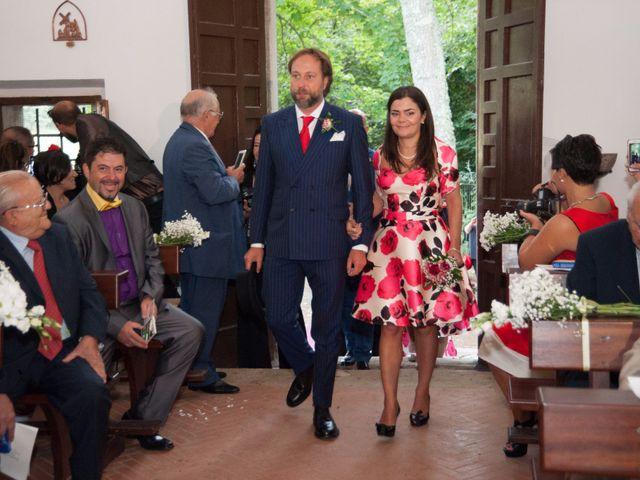 Il matrimonio di Ingrid e Emiliano a Manziana, Roma 17