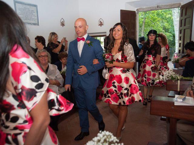 Il matrimonio di Ingrid e Emiliano a Manziana, Roma 18