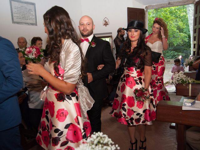 Il matrimonio di Ingrid e Emiliano a Manziana, Roma 19