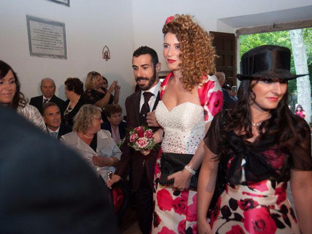 Il matrimonio di Ingrid e Emiliano a Manziana, Roma 20