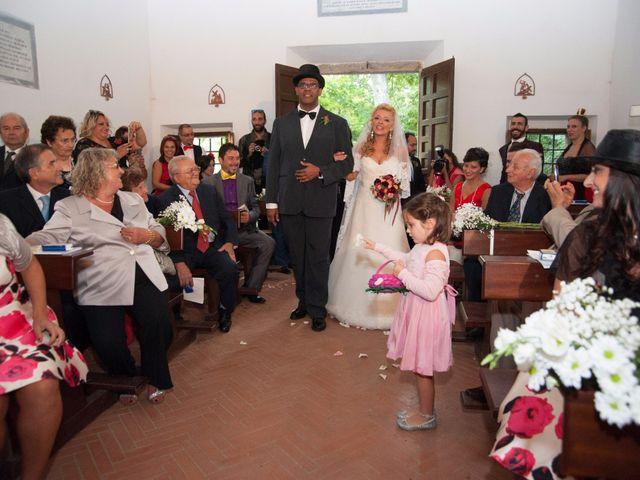 Il matrimonio di Ingrid e Emiliano a Manziana, Roma 21