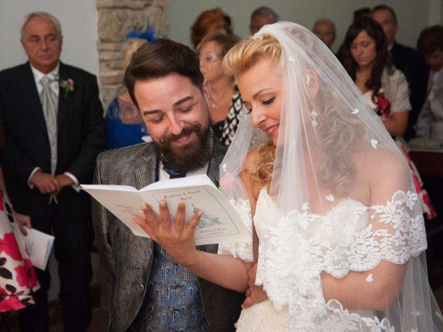 Il matrimonio di Ingrid e Emiliano a Manziana, Roma 24