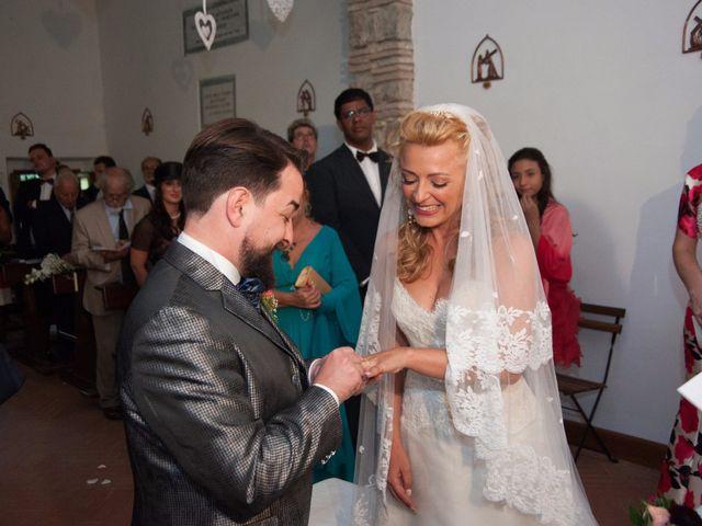 Il matrimonio di Ingrid e Emiliano a Manziana, Roma 26
