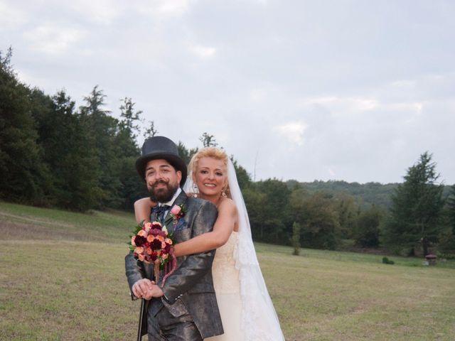 Il matrimonio di Ingrid e Emiliano a Manziana, Roma 32