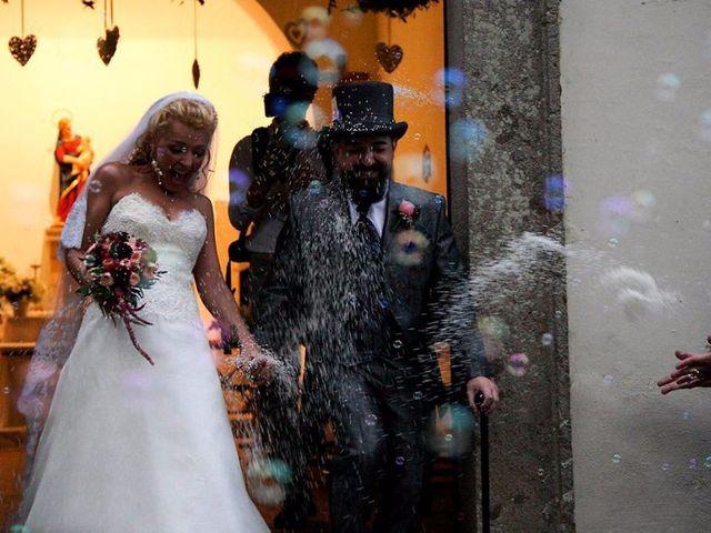 Il matrimonio di Ingrid e Emiliano a Manziana, Roma 78