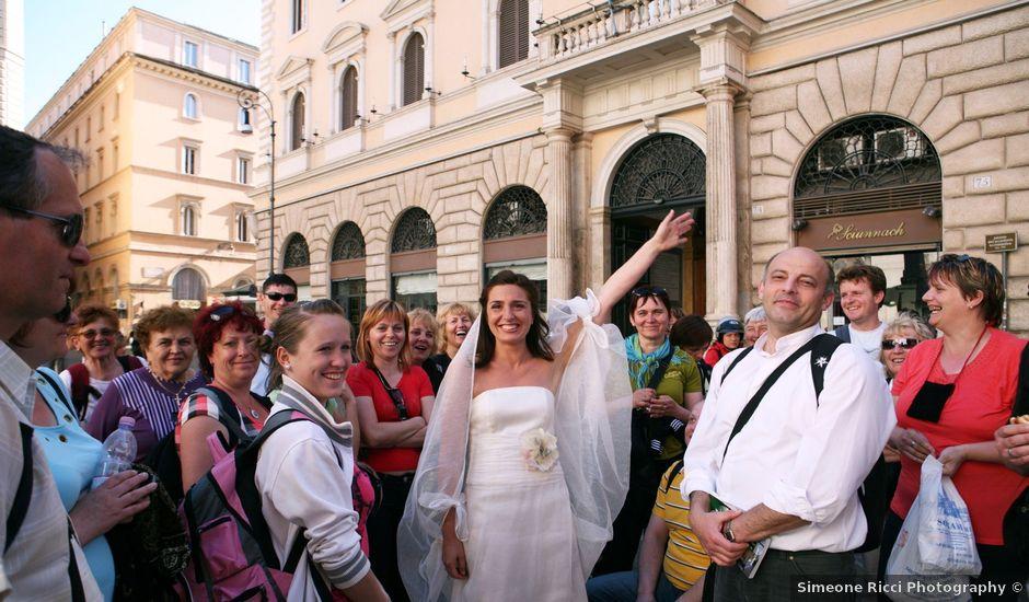Il matrimonio di Pierfrancesco e Chiara a Roma, Roma