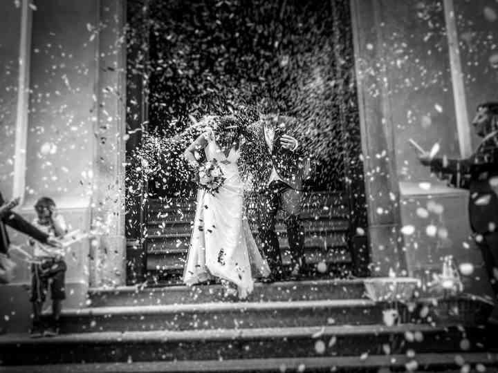 le nozze di Cinzia e Cesare
