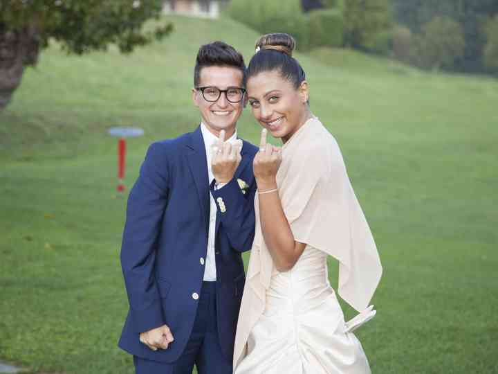 Le nozze di Olga e Greta