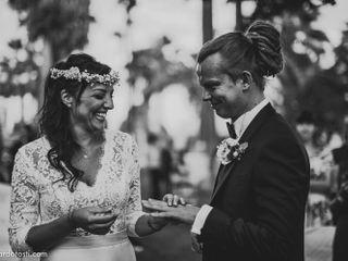 Le nozze di Dariusz e Melania