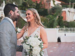 Le nozze di Sheree e Daniel
