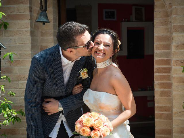 Il matrimonio di Riccardo e Federica a Altidona, Fermo 41