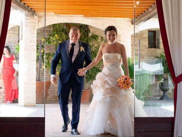 Il matrimonio di Riccardo e Federica a Altidona, Fermo 124