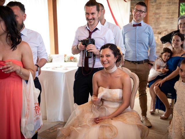 Il matrimonio di Riccardo e Federica a Altidona, Fermo 129
