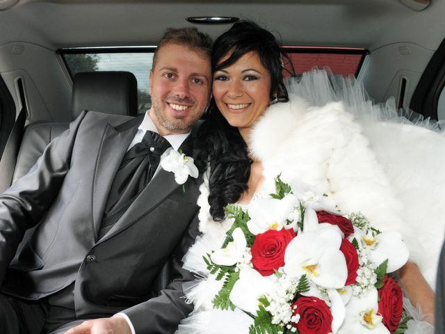 Le nozze di Imma e Stefano