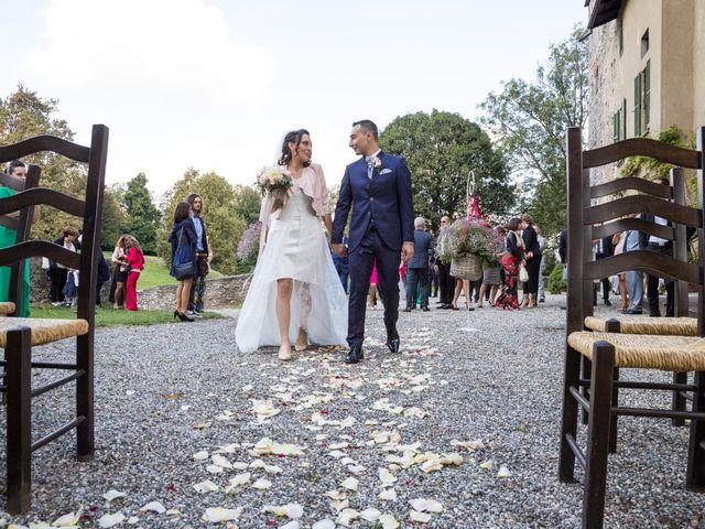 Il matrimonio di Giovanna e Fabio a Castelletto sopra Ticino, Novara 1