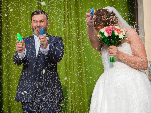 Il matrimonio di Massimo e Daniela a Cervesina, Pavia 1