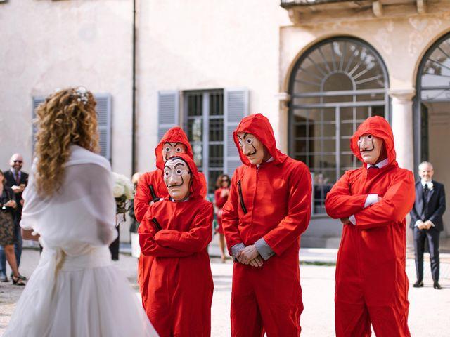 Il matrimonio di Francesca e Andrea a Trecate, Novara 33