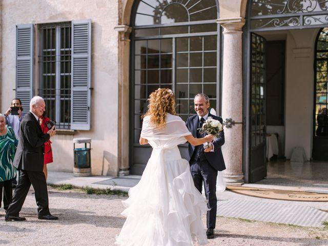 Il matrimonio di Francesca e Andrea a Trecate, Novara 37