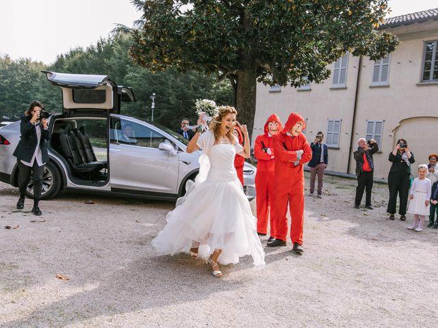 Il matrimonio di Francesca e Andrea a Trecate, Novara 40