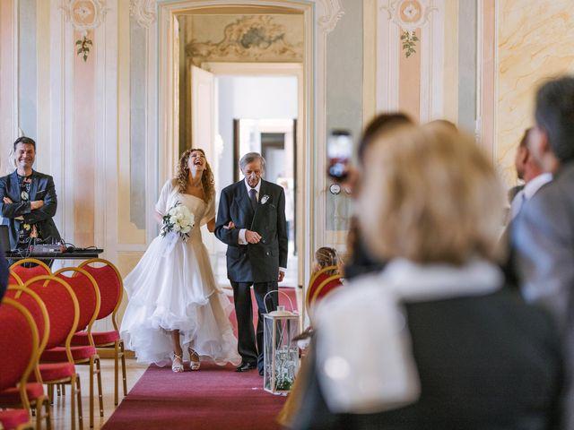 Il matrimonio di Francesca e Andrea a Trecate, Novara 48
