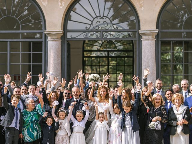 Il matrimonio di Francesca e Andrea a Trecate, Novara 78