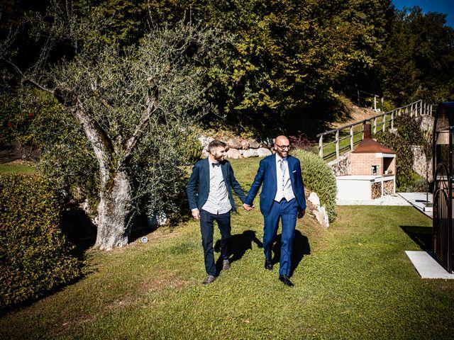Il matrimonio di Luca e Natalia a Costermano, Verona 12