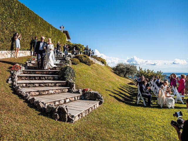 Il matrimonio di Luca e Natalia a Costermano, Verona 21