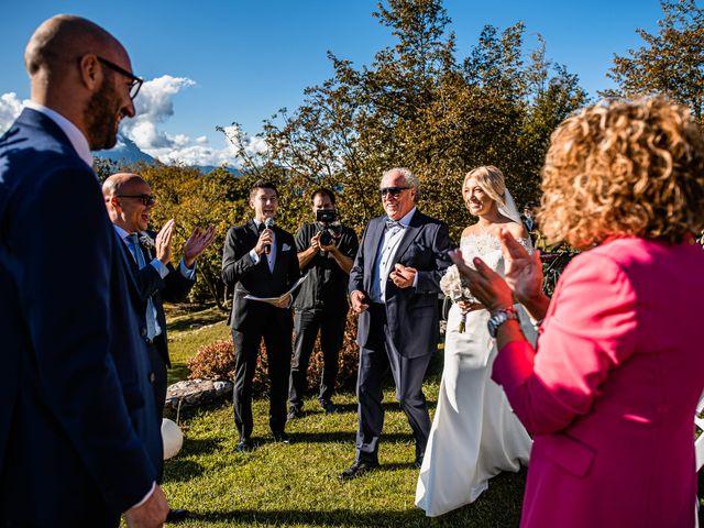 Il matrimonio di Luca e Natalia a Costermano, Verona 23