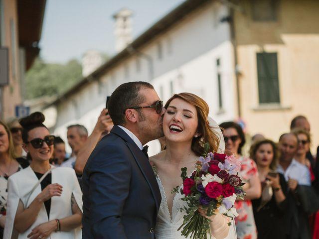 Il matrimonio di Marina e Andrea a Montichiari, Brescia 20