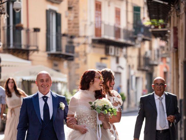 Il matrimonio di Marco e Melissa a Monreale, Palermo 48