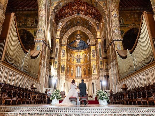 Il matrimonio di Marco e Melissa a Monreale, Palermo 61